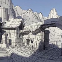the city of wu 3d test
