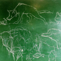 preschool drawing