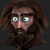 The Mountain Bandit and Messy Hair with ZBrush