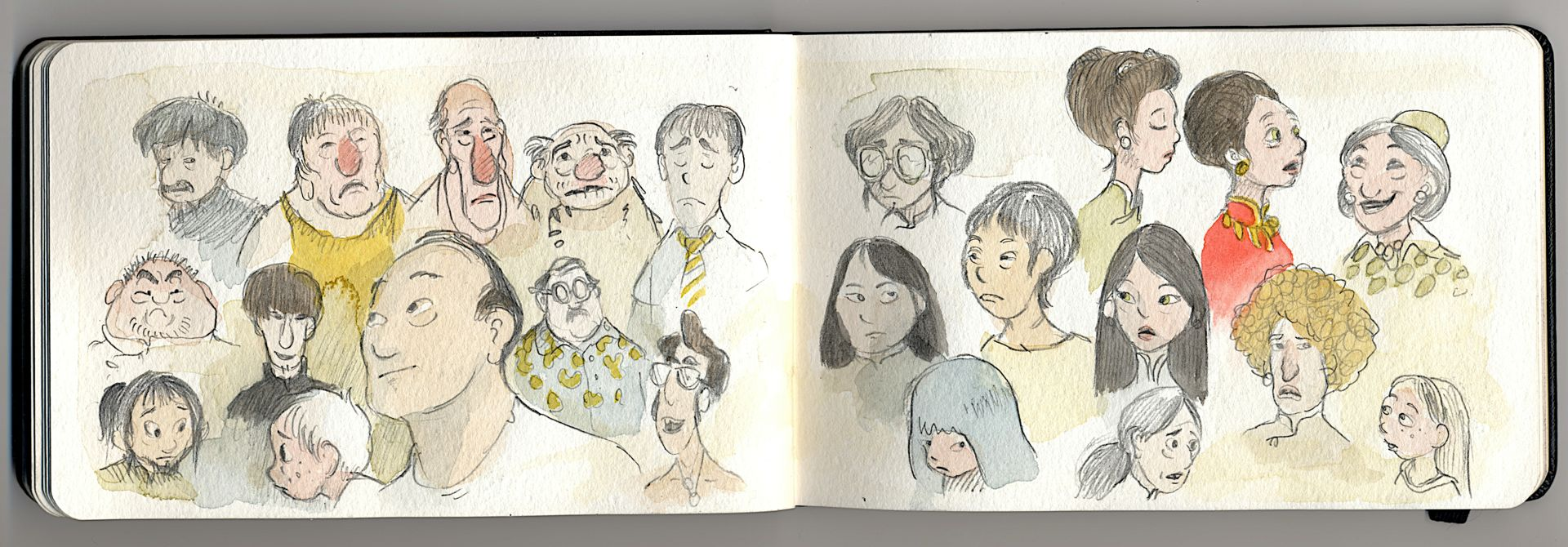 character doodles and explorations.