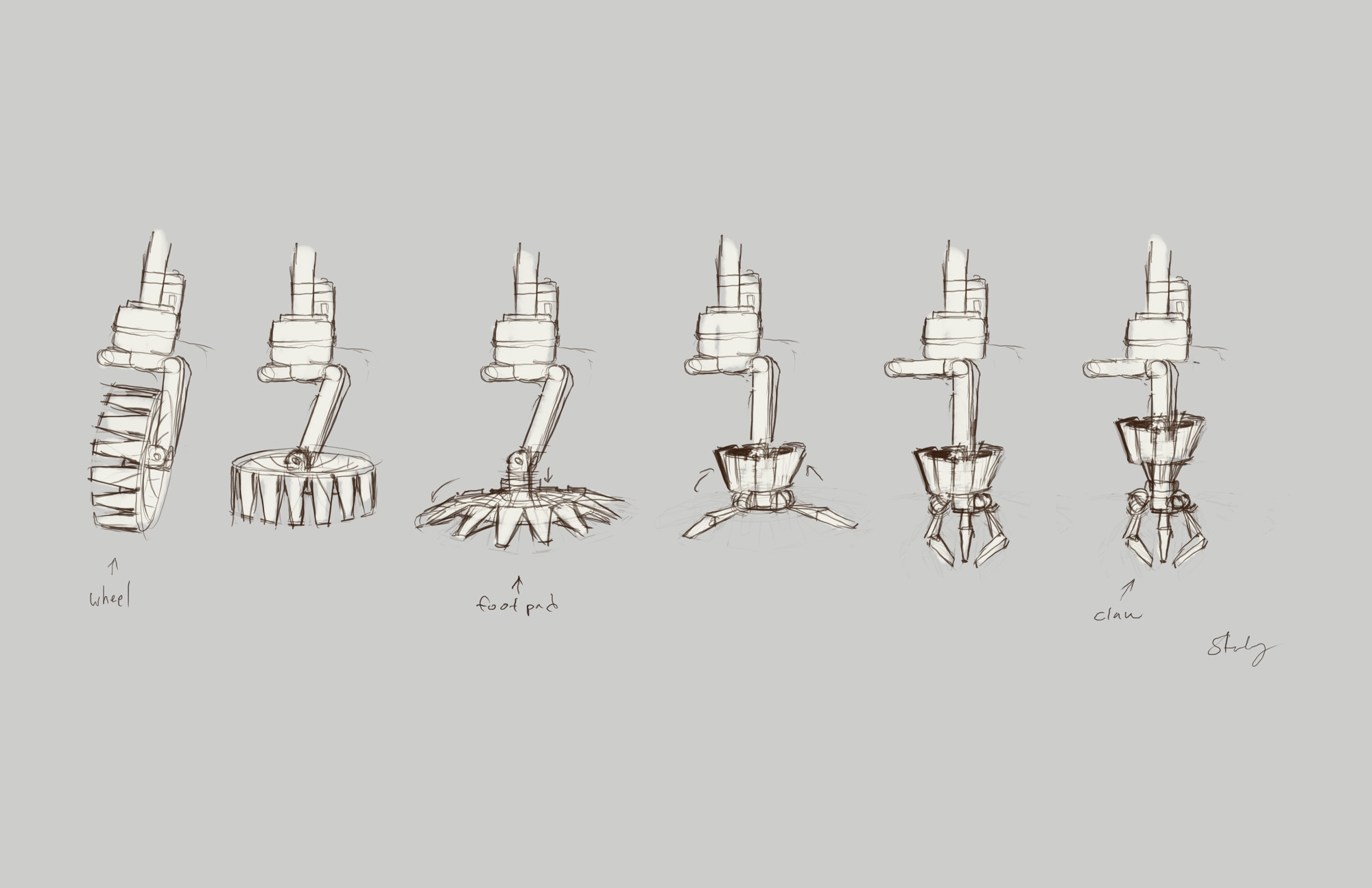 the claw animation sequence.