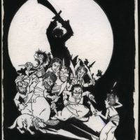 Alibaba and the Forty Thieves cartoon