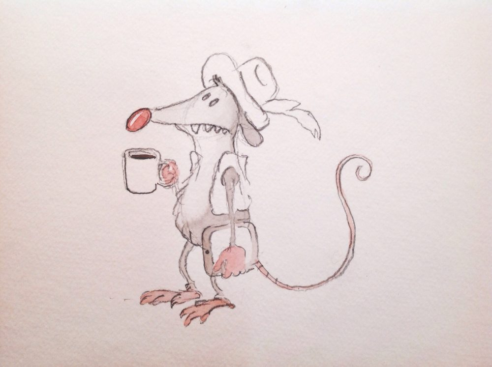 Coffee possum