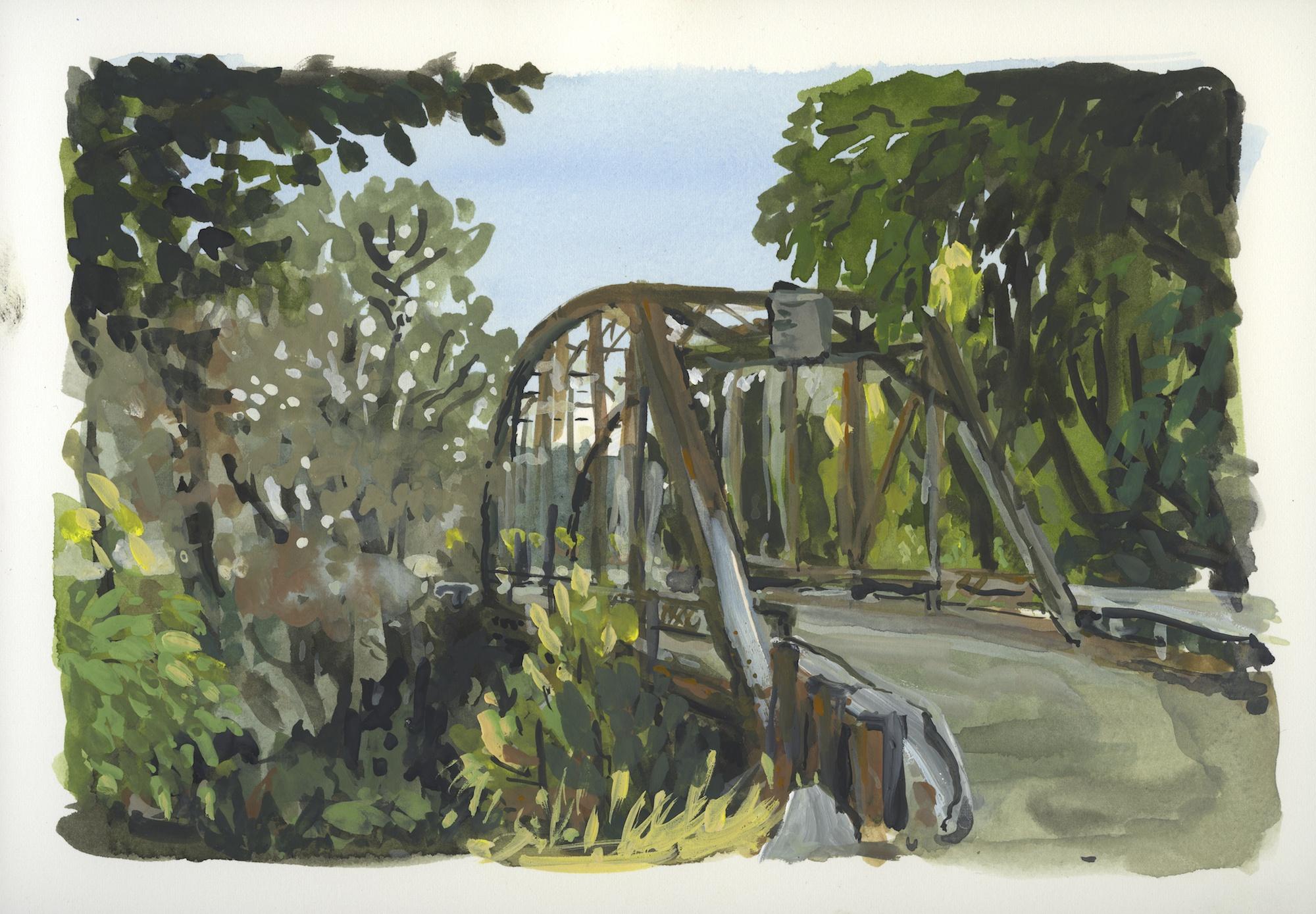 cry creek bridge
