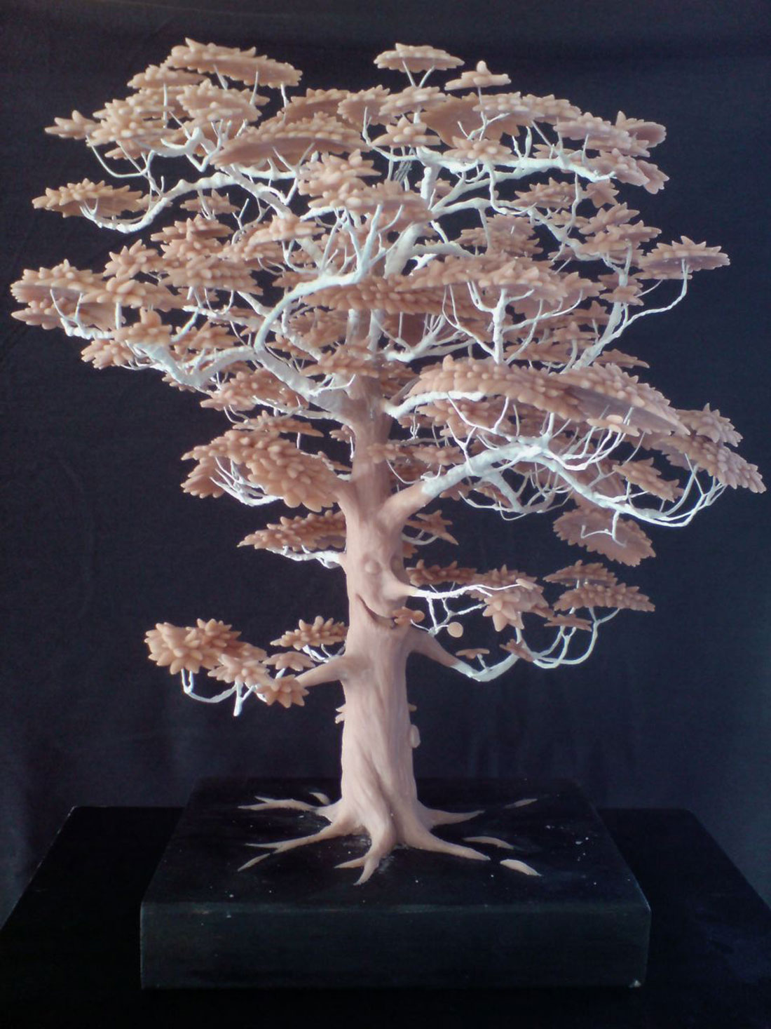 sculpey tree sculpture