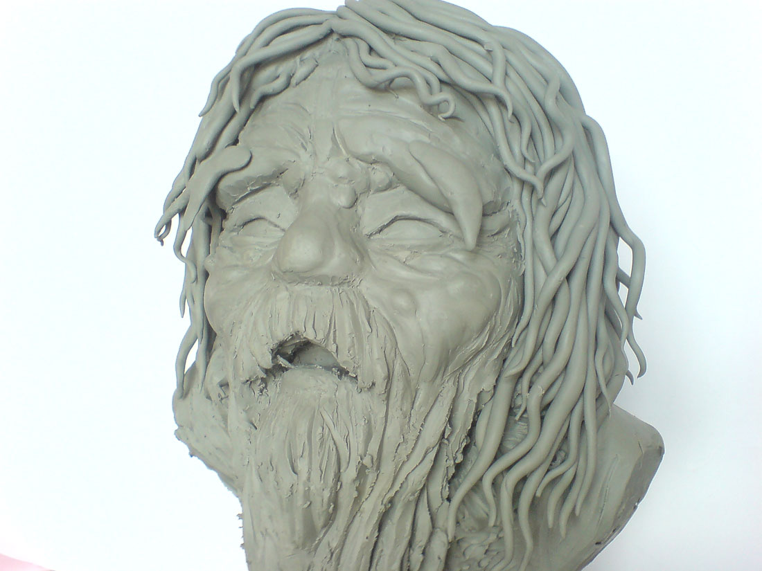 old man sculpt