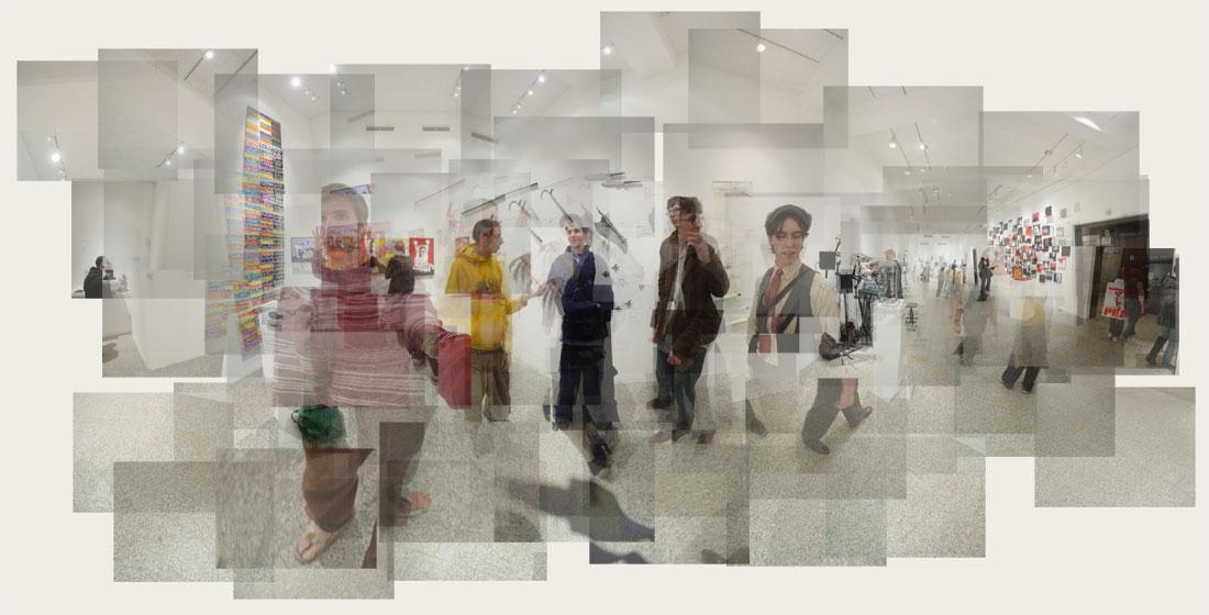 USC fine arts thesis show