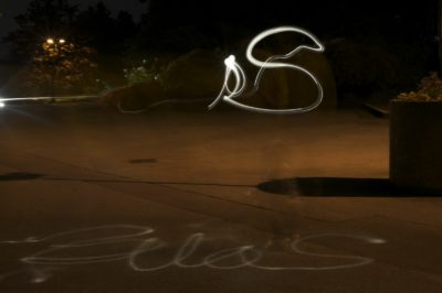 Silas name in light