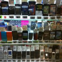 so many cell phones