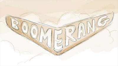Boomerang Girl Storyboard panel