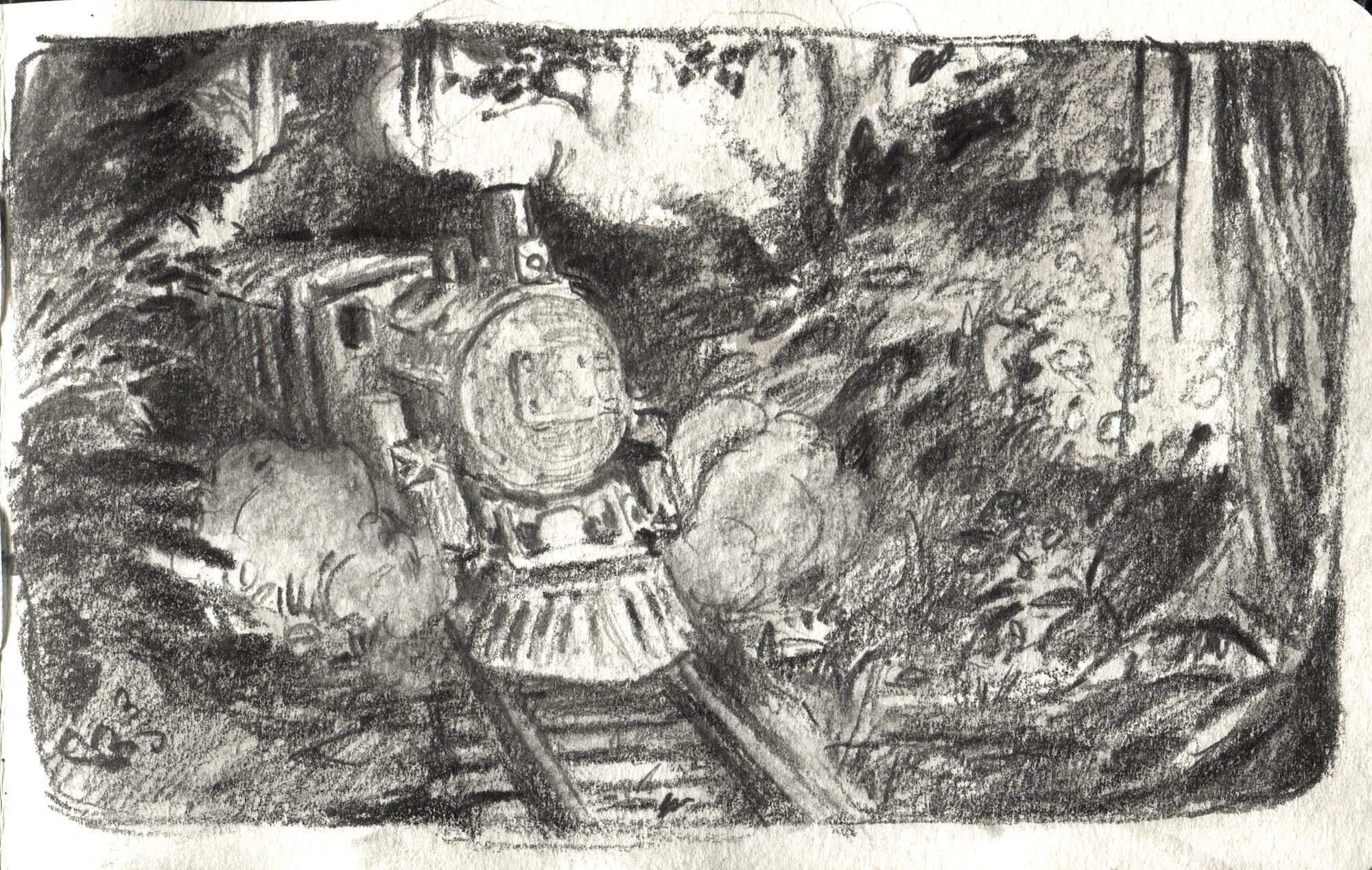 engine doodle