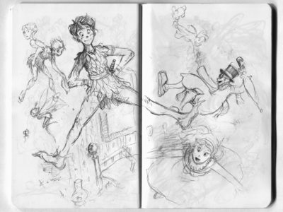 peter pan sketch