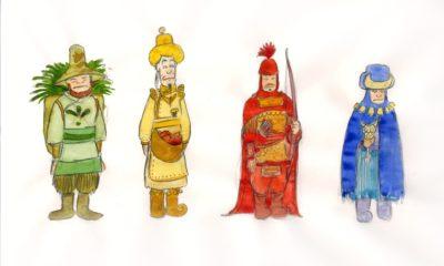 dragon characters dsioe