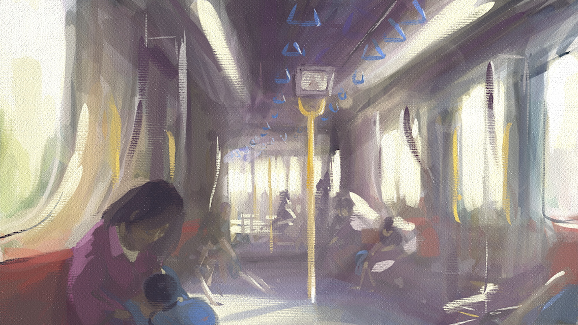 train Artrage iphone painting