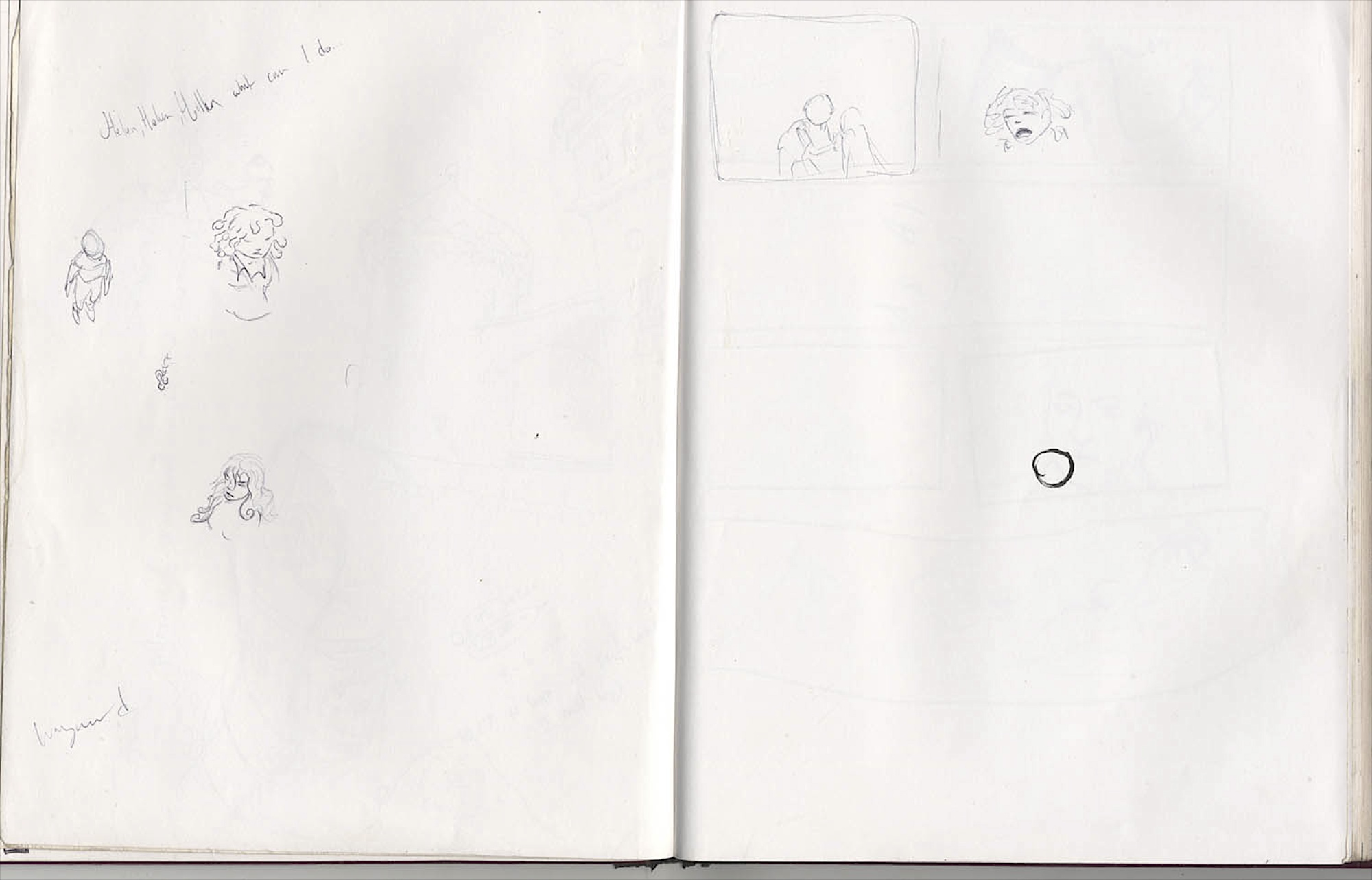 empty page