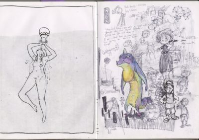 girl and weirdness