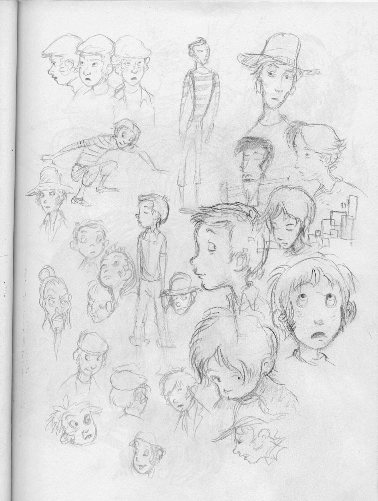boy doodles