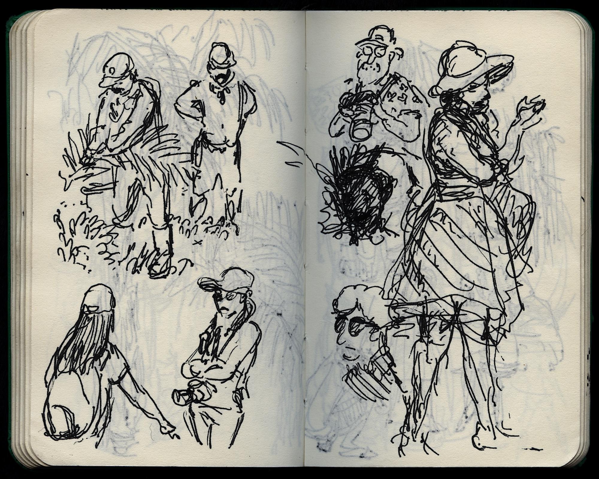 people drawings