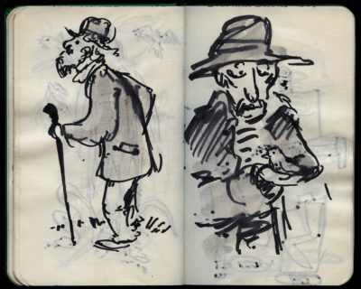 the elderly gent