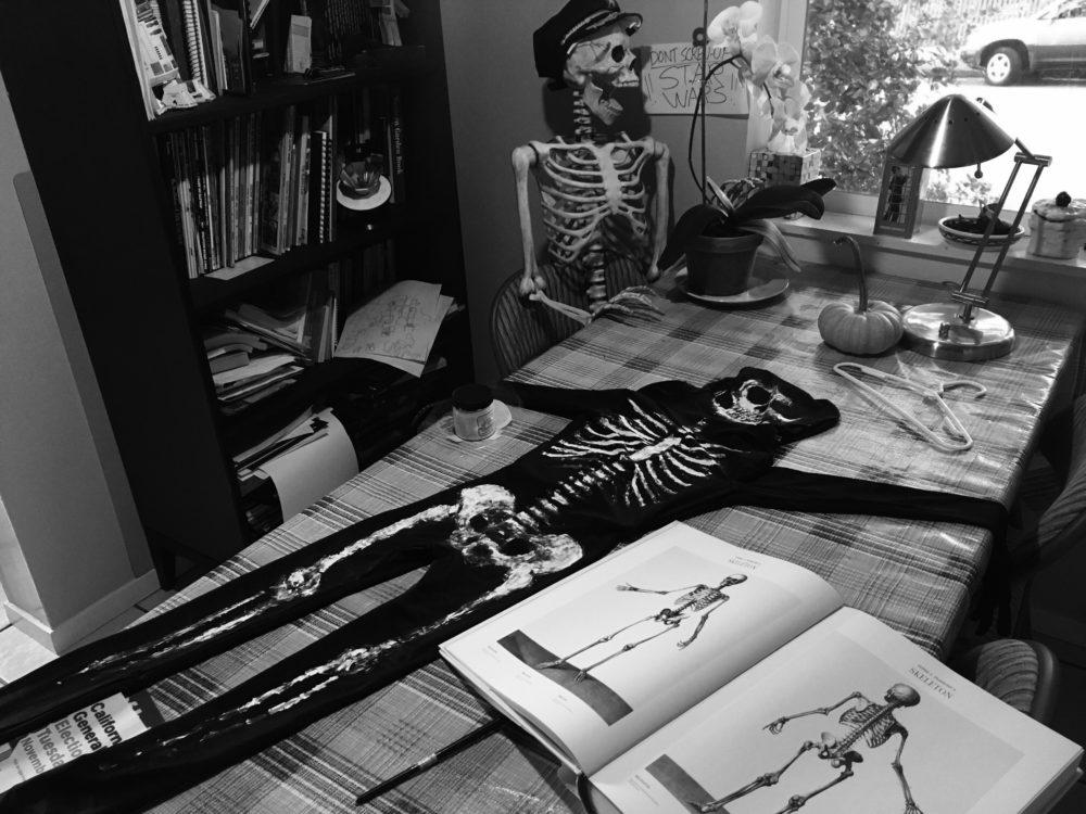 Bones for halloween