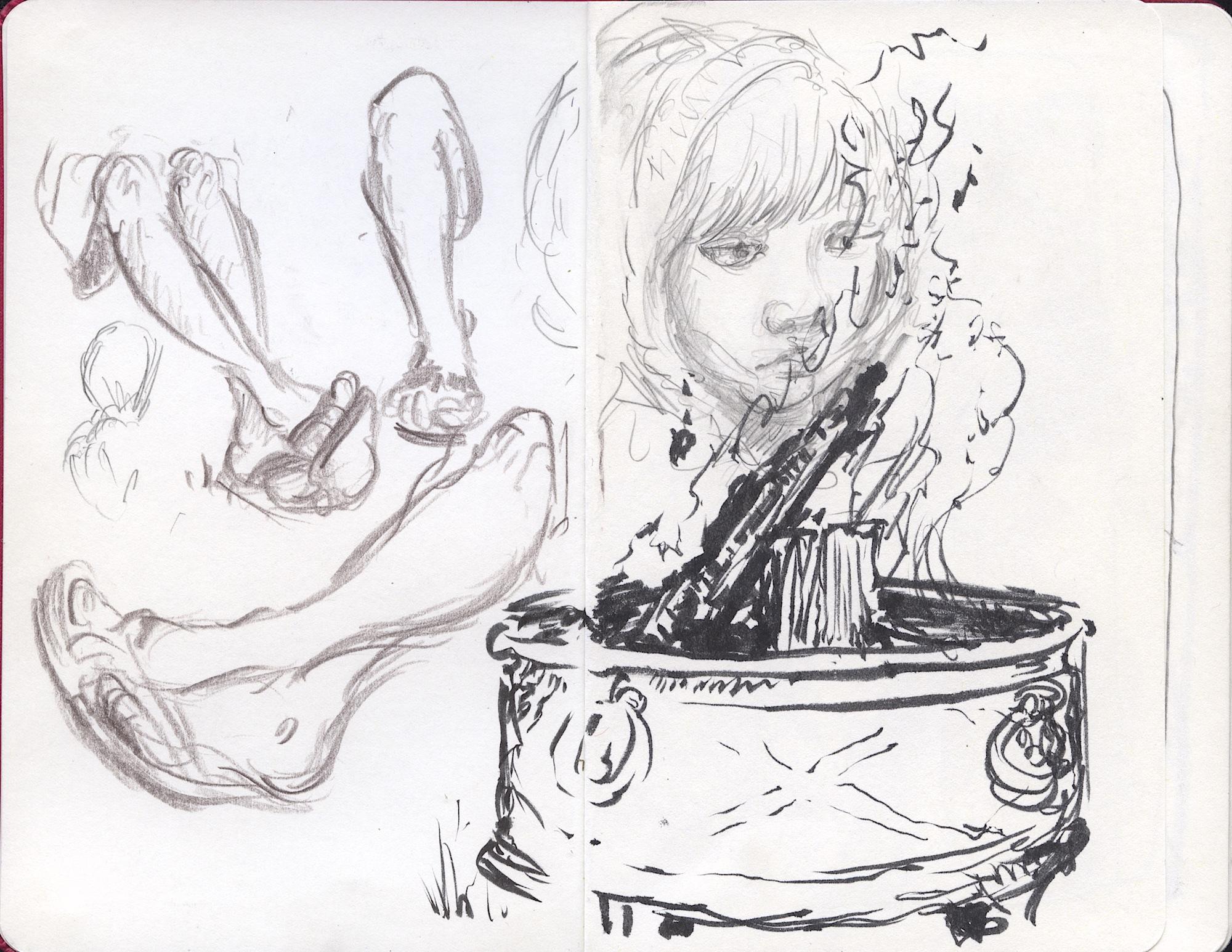 Drum fire