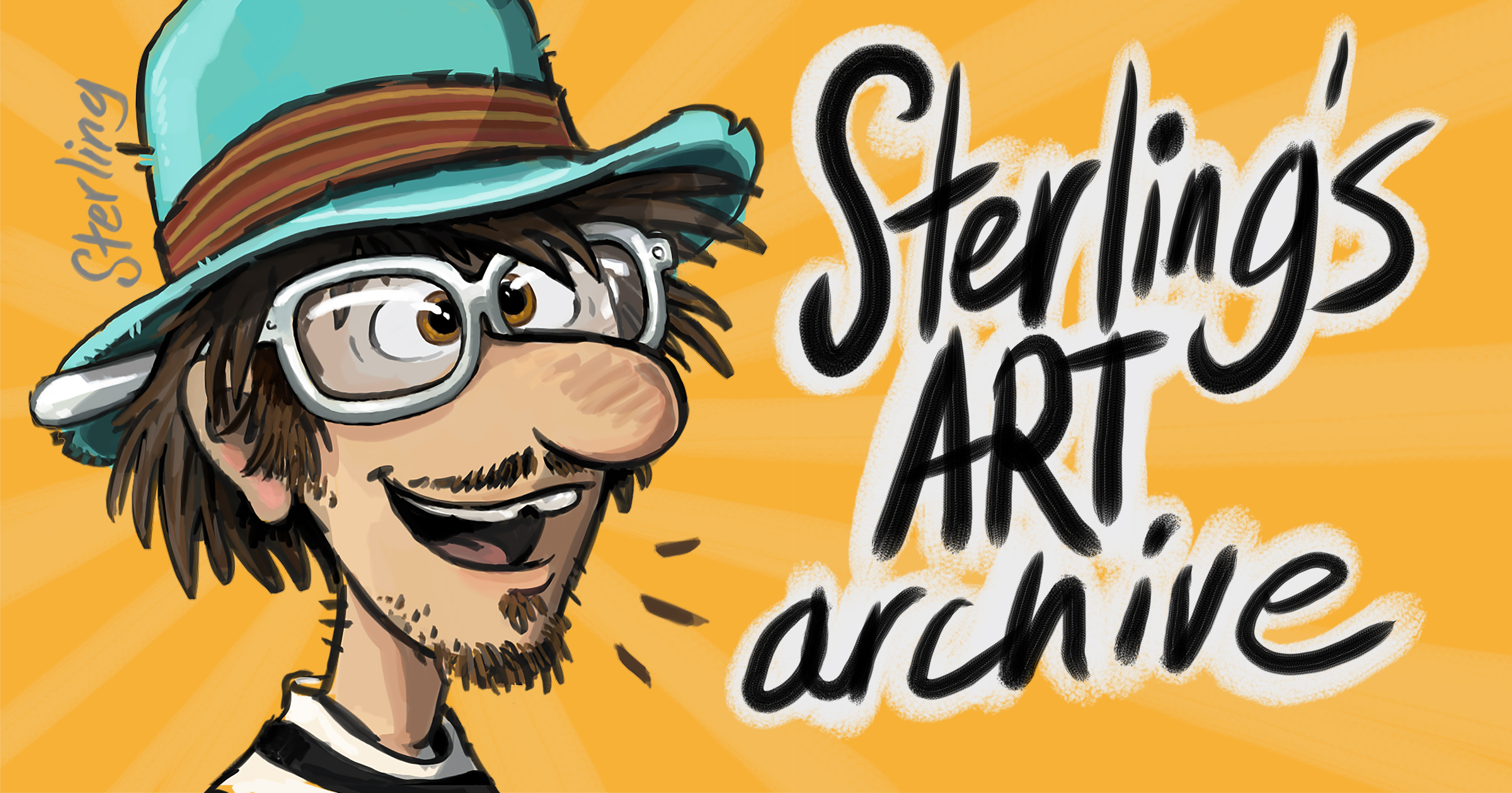 Sterling Sheehy Art Archive Welcome Banner